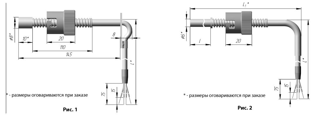 Термометр сопротивления ТСП 0912, ТСМ 0912