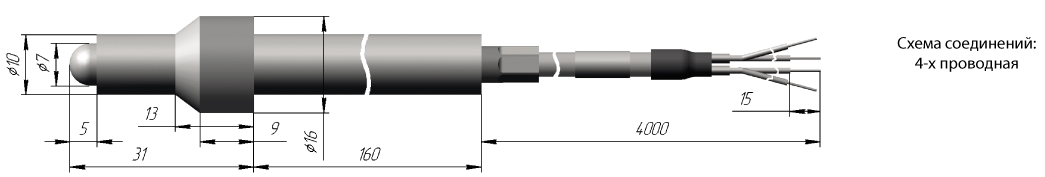 Термометр сопротивления ТСП 0923