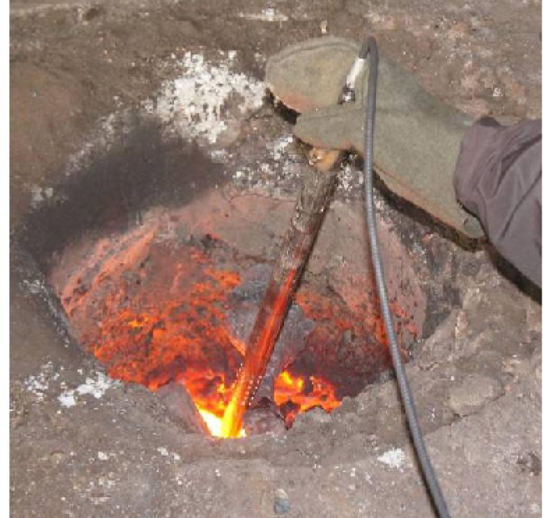 Способы оперативного измерения температуры расплава металлов для нужд машиностроительных предприятий