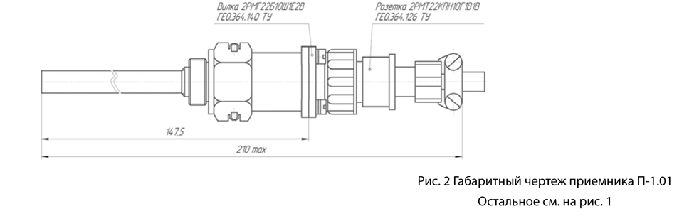 Приёмник термометра сопротивления П-1