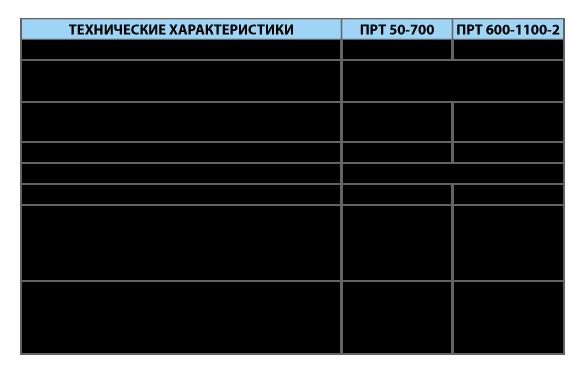 Печь ПРТ 600-1100