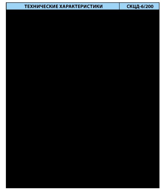 Стационарный контроллер цифровых датчиков СКЦД-6/200