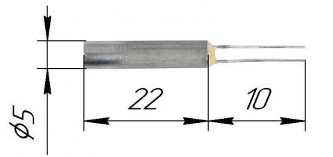 Чувствительные элементы платиновые (ЭЧП) латунные