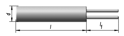Элемент термометрический чувствительный платиновый ЭЧП, ЭЧМ