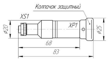 Переходник МКСН.434641.033 для ПКЦД-1/16, ПКЦД-1/100