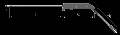 Кабельные преобразователи термоэлектрические ТХА 9709, ТХК 9709