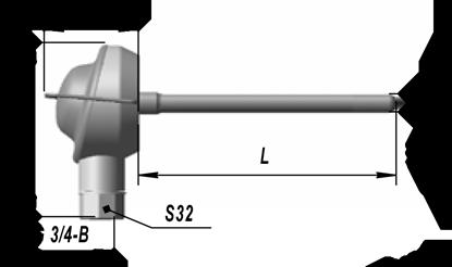 Преобразователи термоэлектрические хромель-алюмелевые ТХА 9816