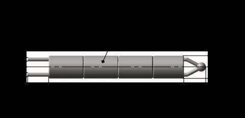 Преобразователи термоэлектрические платинородиевые ТПР 5 182 003, ТПР 5 182 004 бескорпусные