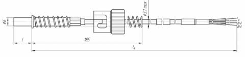 Термопреобразователи сопротивления платиновые ТСП 0908 и медные ТСМ 0908