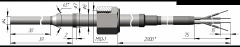 Термопреобразователь сопротивления платиновый ТСП 0909