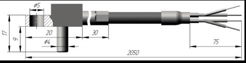 Термопреобразователь сопротивления платиновые ТСП 0918 и медные ТСМ 0918