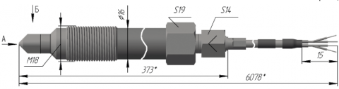 Термопреобразователь сопротивления платиновые ТСП 0920