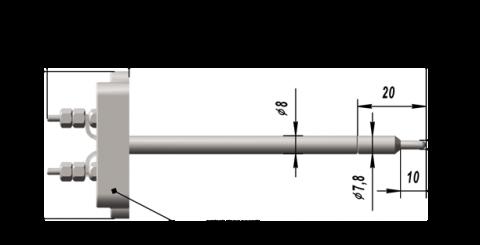 Термовставка преобразователя термоэлектрического ТВПТ 9424