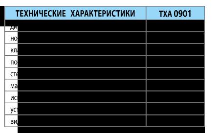 Преобразователи термоэлектрические ТХА 0901