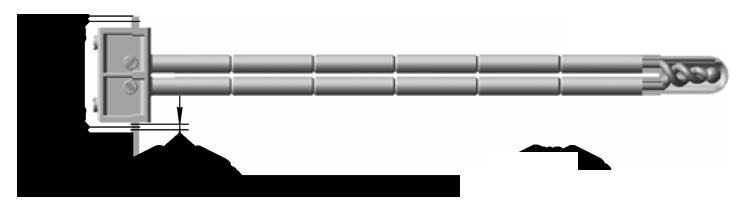Преобразователи термоэлектрические бескорпусные ТХА 9419, ТХК 9419