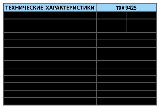 Преобразователи термоэлектрические ТХА 9425