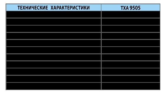 Преобразователи термоэлектрические ТХА 9505