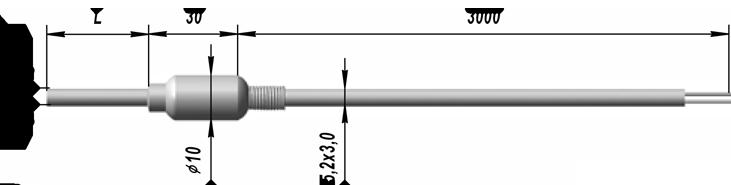 Преобразователи термоэлектрические ТХА 9624, ТХК 9624