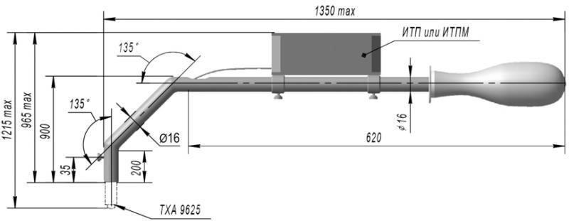 Преобразователи термоэлектрические хромель-алюмелевые ТХА 9625