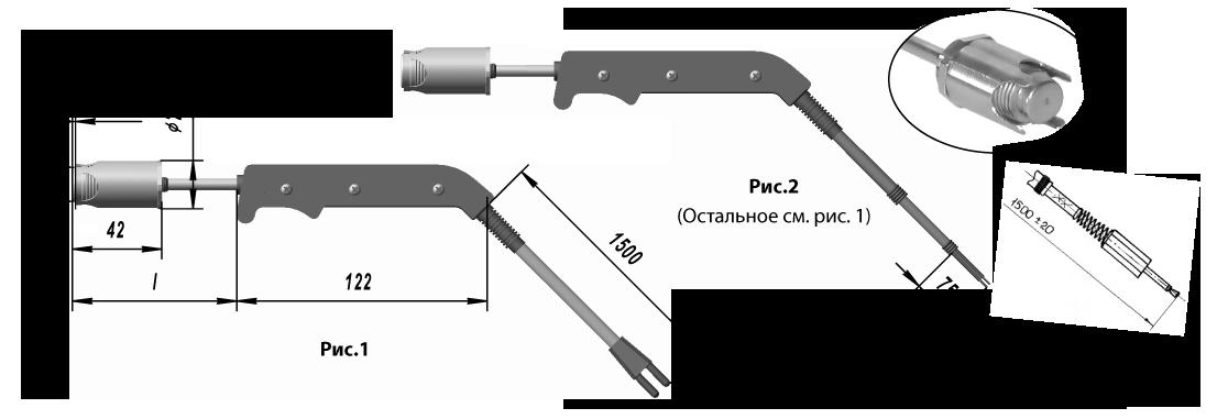 Поверхностные термоэлектрические преобразователи ТХА 9909, ТХК 9909