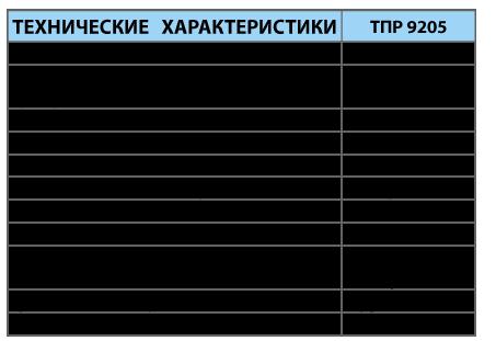 Преобразователи термоэлектрические платинородиевые ТПР 9205