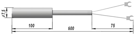 Термопреобразователь сопротивления медный ТСМ 9509