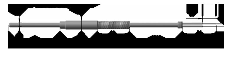 Кабельные термопреобразователи сопротивления платиновые ТСП 9801