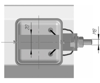 Поверхностные термопреобразователи сопротивления платиновые ТСП 9803