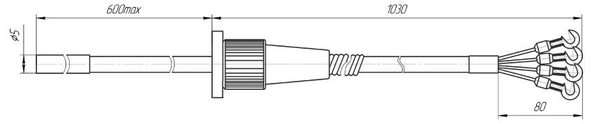 Эталонные термометры сопротивления 3-го разряда ТСП 0307