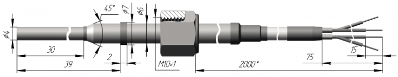 Термопреобразователь сопротивления платиновые ТСП 0909