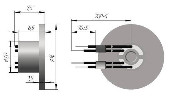 Термопреобразователь сопротивления платиновые ТСП 0911