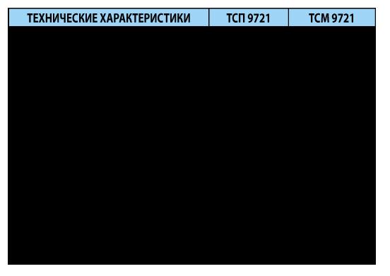 Термопреобразователи сопротивления платиновые ТСП 9721 и медные ТСМ 9721